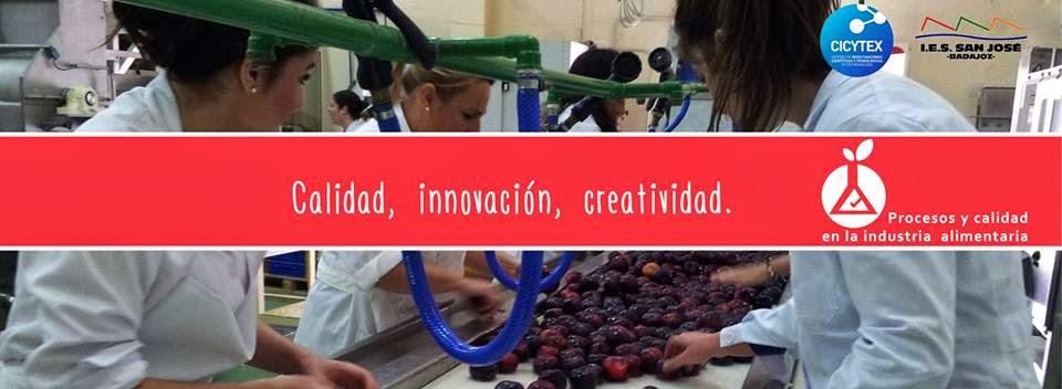 - Sigue en Facebook las actividades del Ciclo de Procesos y Calidad en la Industria Alimentaria.