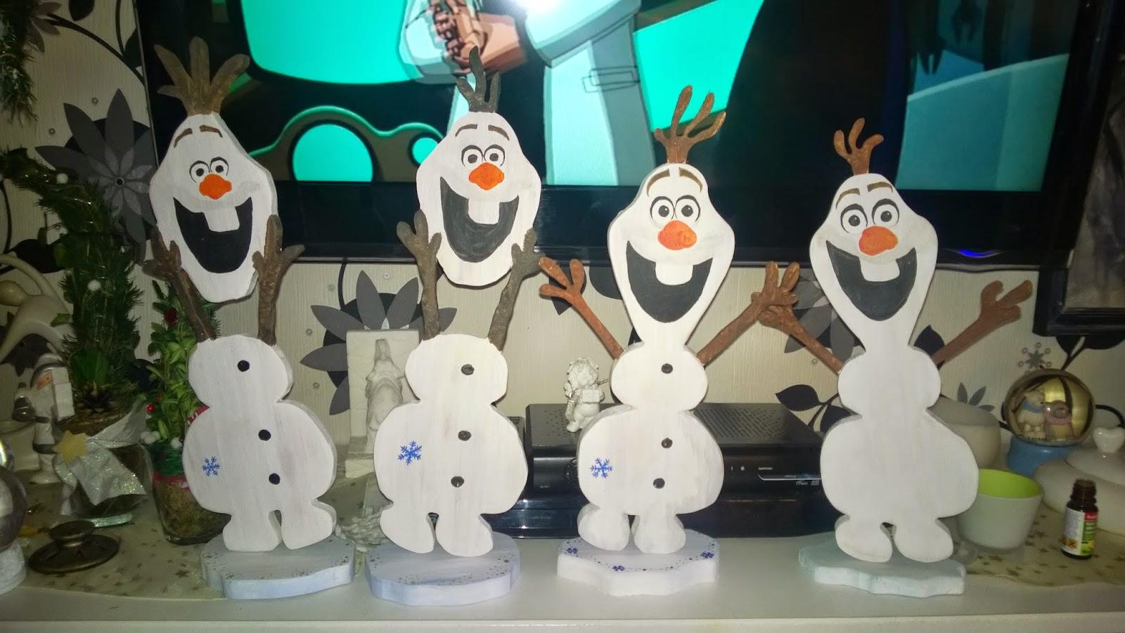 Olaf der etwas andere schneemann die eisk nigin - Schneemann olaf basteln ...