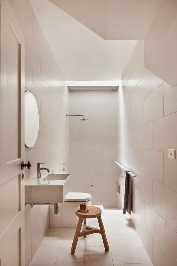 A striking family home in melbourne my scandinavian home bloglovin Small bathroom design melbourne