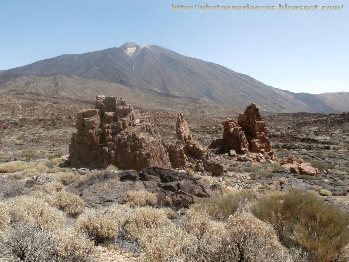 Llano de Majús y Pico del Teide