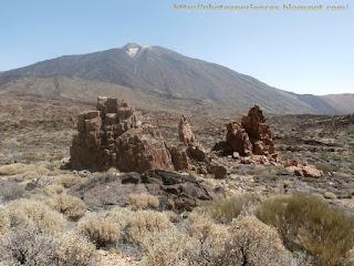 Llano de Majús y Pico del Teide - Majus plain and Pico del Teide