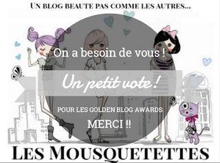 Votez pour Les Mousquetettes ! Un blog beauté pas comme les autres...