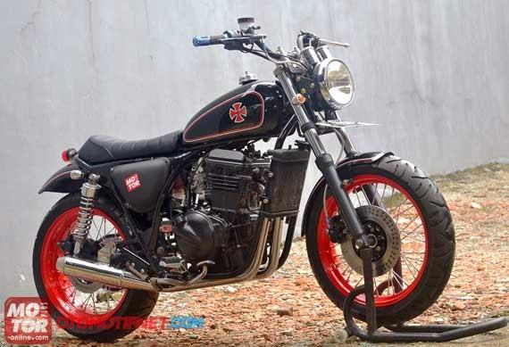 Modifikasi Kawasaki Ninja 250 Ala CB / Klasik