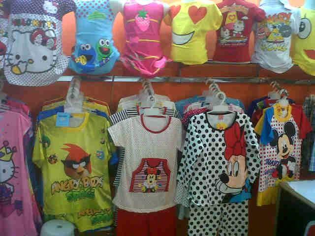 Baju Tidur Anak Karakter Murah Surabaya