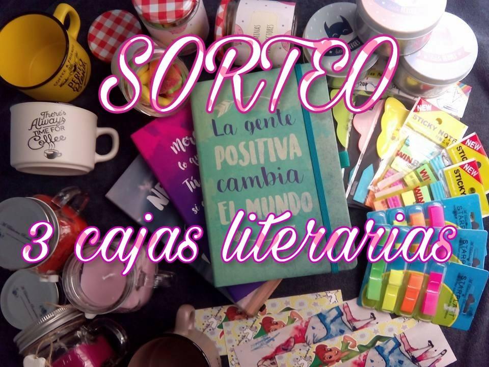 Sorteo 3 cajas literarias