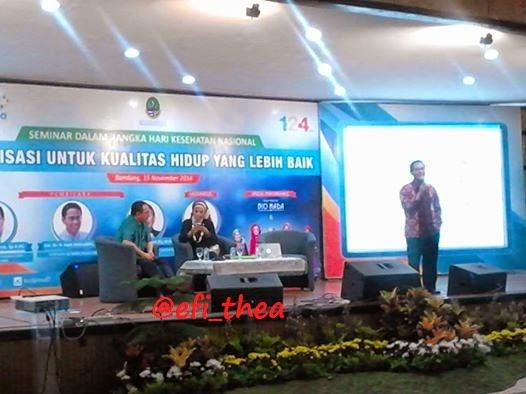 Oleh-oleh Seminar  Imunisasi  Bio Farma