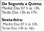 HORÁRIO DA BIBLIOTECA DO IASPINHO