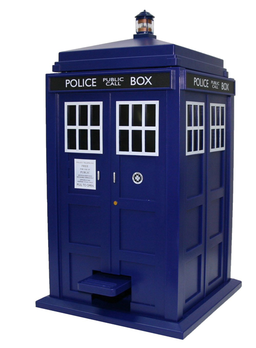 Tardis Wedding Card Box
