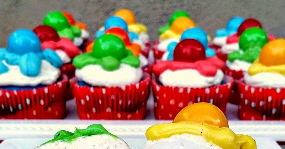Duff Tie Dye Cake Cupcakes