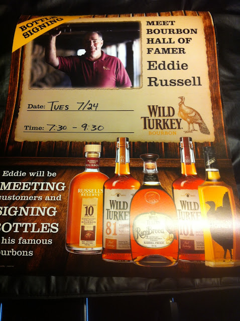 Bourbon Hall of Famer Eddie Russell Bottle Signing July 24 at The Cove
