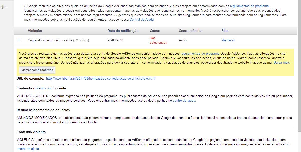 Google não gosta que falemos do anticristo
