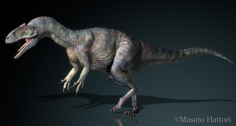 Marchan Blog: アロサウルス Allosaurus Mar...  アロサウルス A