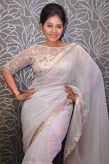 Anjali latest Glamorous pics in saree 030