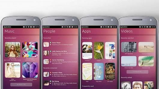 Smartphone com Ubuntu