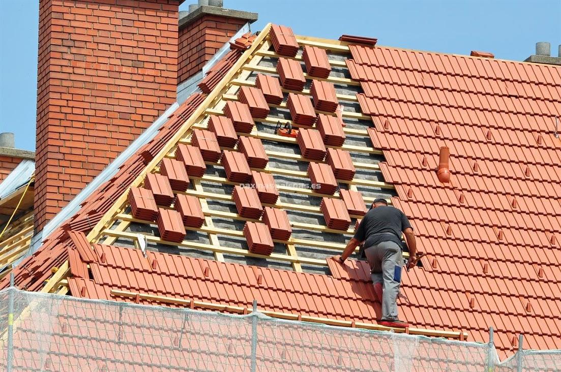 Todotejado rehabilitaci n reparaci n cubiertas tejados for Tipos de tejados de casas