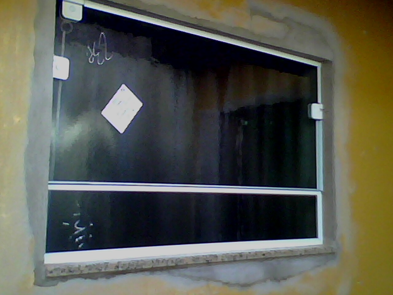 #604908 Reforma troca do sistema de portas e janelas de ferragem para a de  946 Perfil De Aluminio Branco Para Janela
