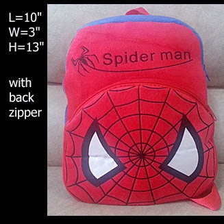 spiderman backpack bag