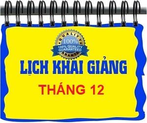 LICH KHAI GIẢNG