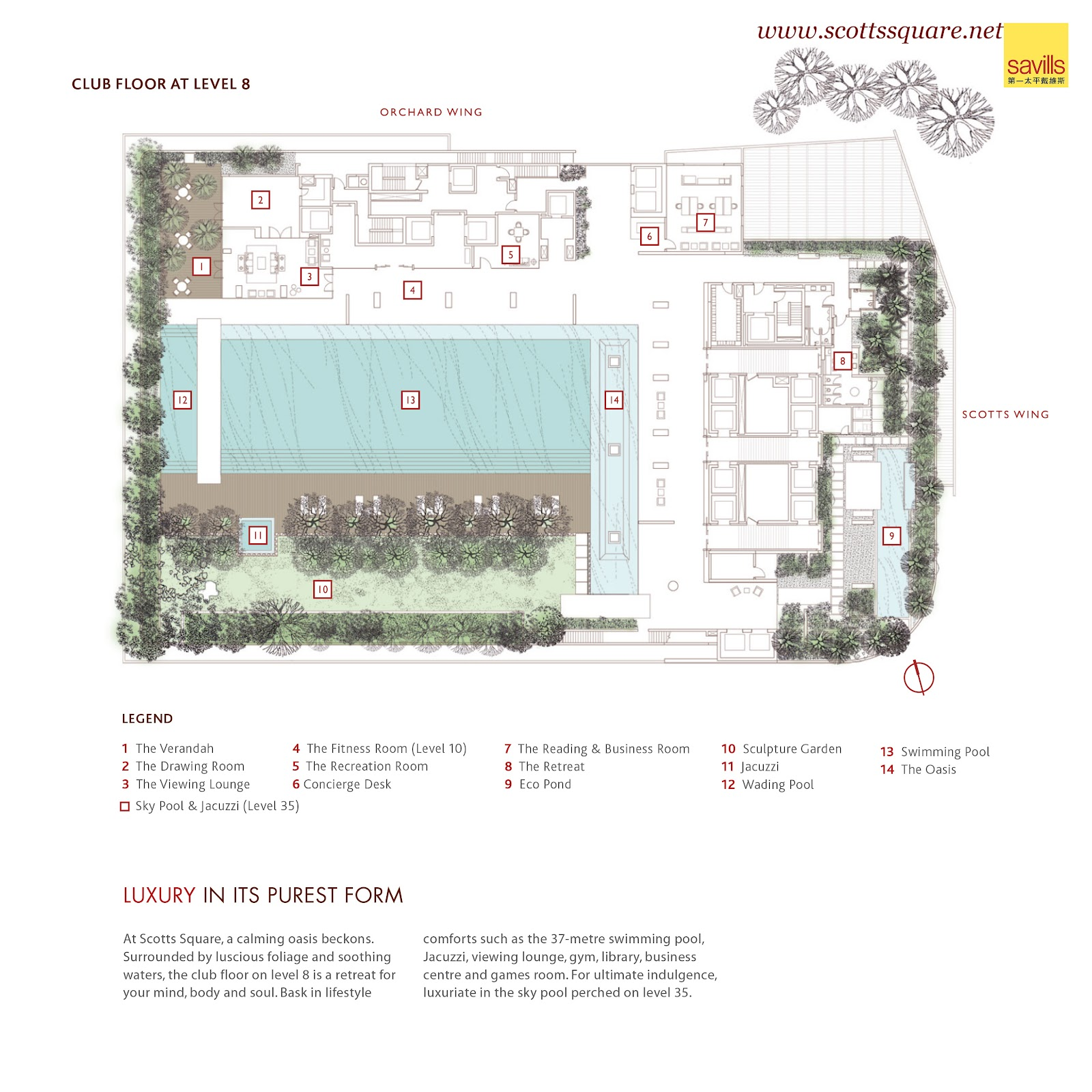 Scotts square singapore site plan and floor plan for Site floor plan