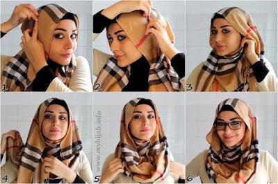 Cara Memakai Hijab Pashmina Terbaru yang Modis