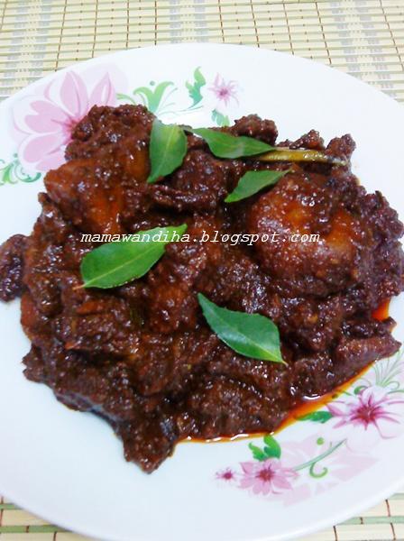 Daging Masak Hitam Mamak Daging Masak Hitam Ala Mamak