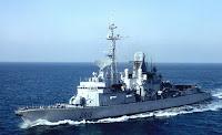 Cassard class air defence frigate