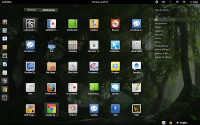 Install GNOME Shell 3.3.2 in Ubuntu 11.10