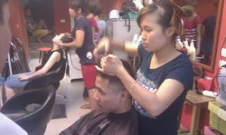 day cat toc nam, dạy nghề tạo mẫu tóc nam nữ tại hà nội