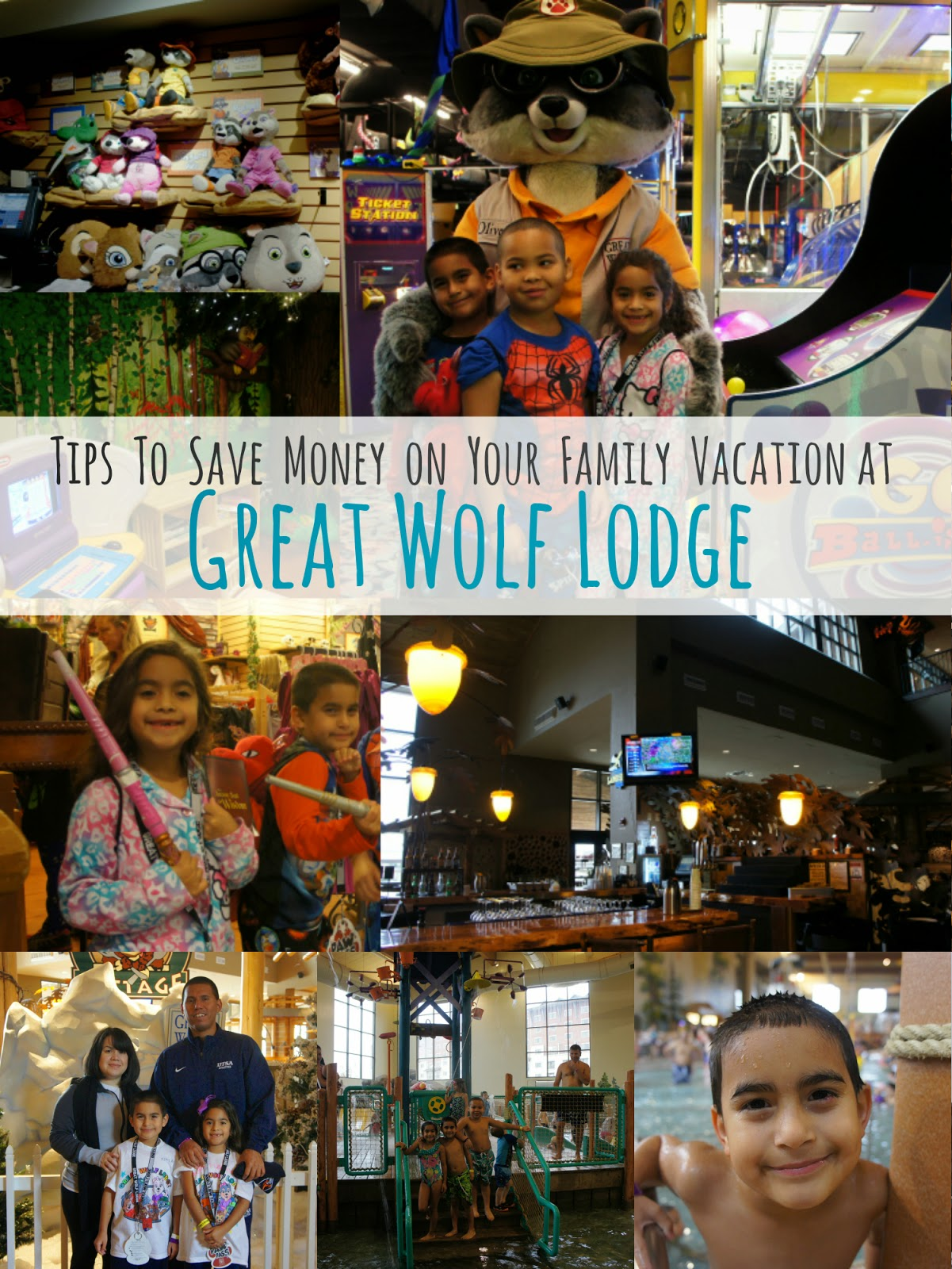 Family Vacations at the Great Wolf Lodge with Indoor Water Park in Grapevine, Texas