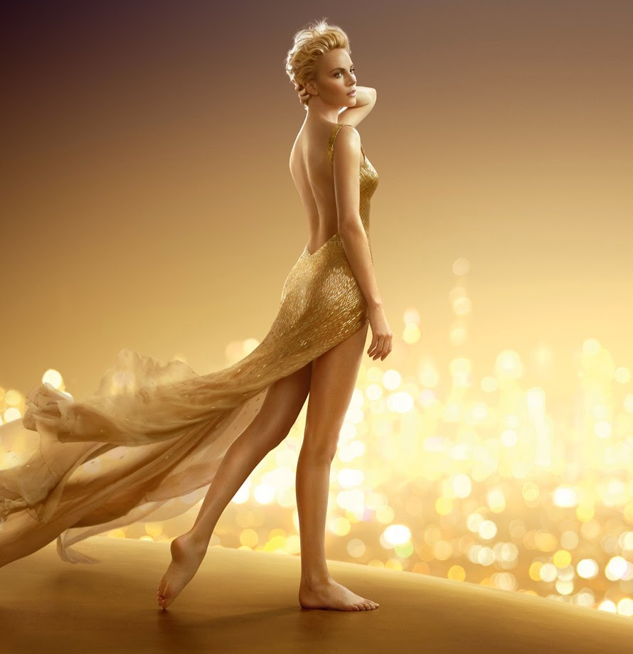 Charlize Theron é novamente a estrela da campanha do J'Adore Dior