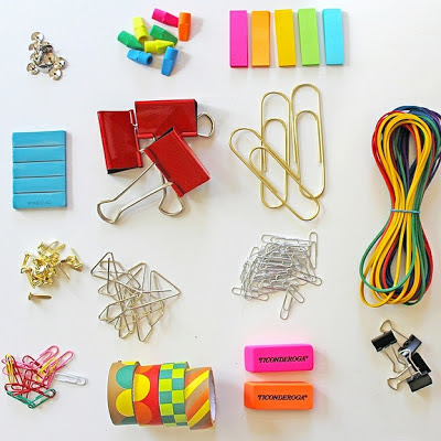 DIY Jewelry Made From Office Supplies