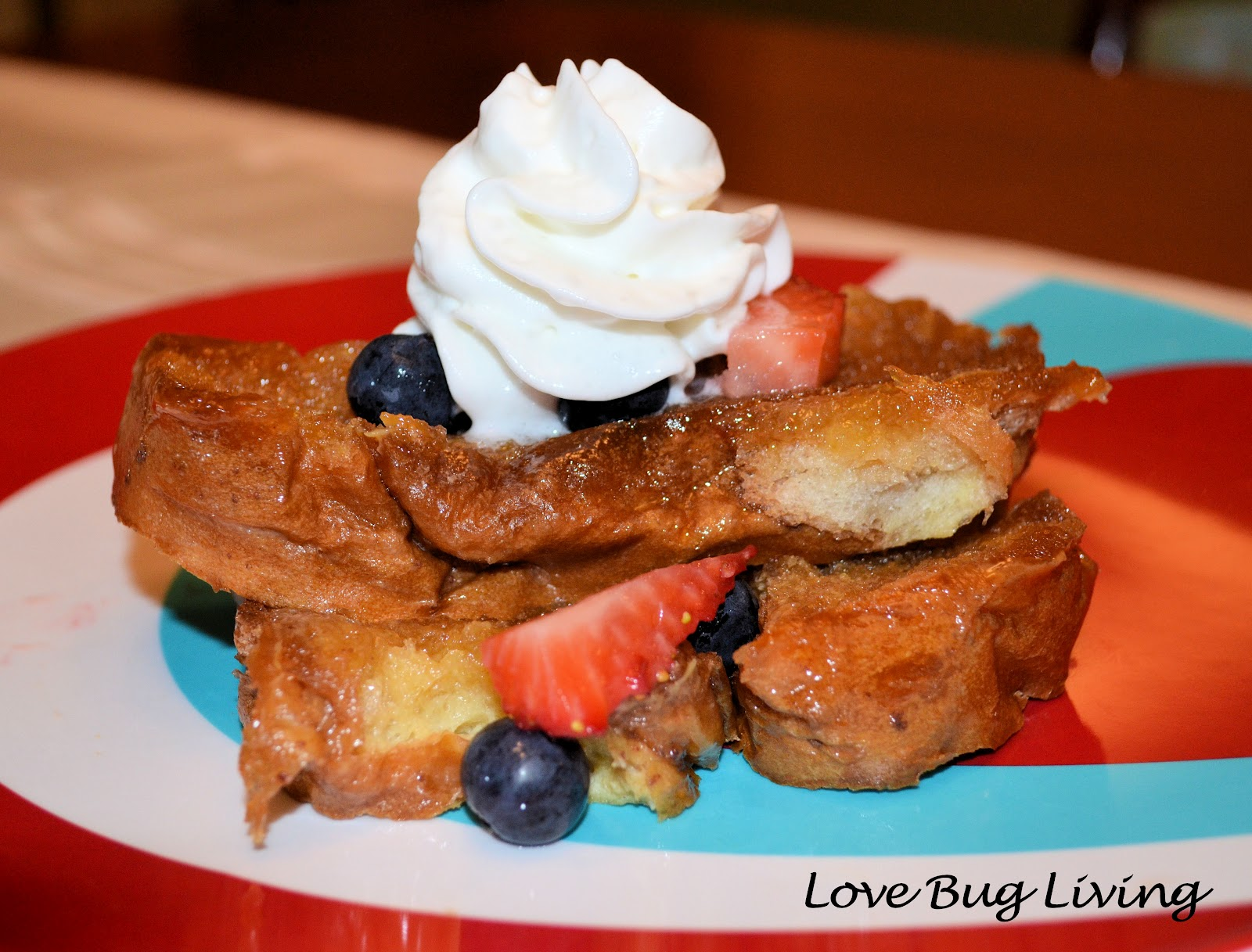 ... whipped cream for fun. This is the perfect special occasion breakfast