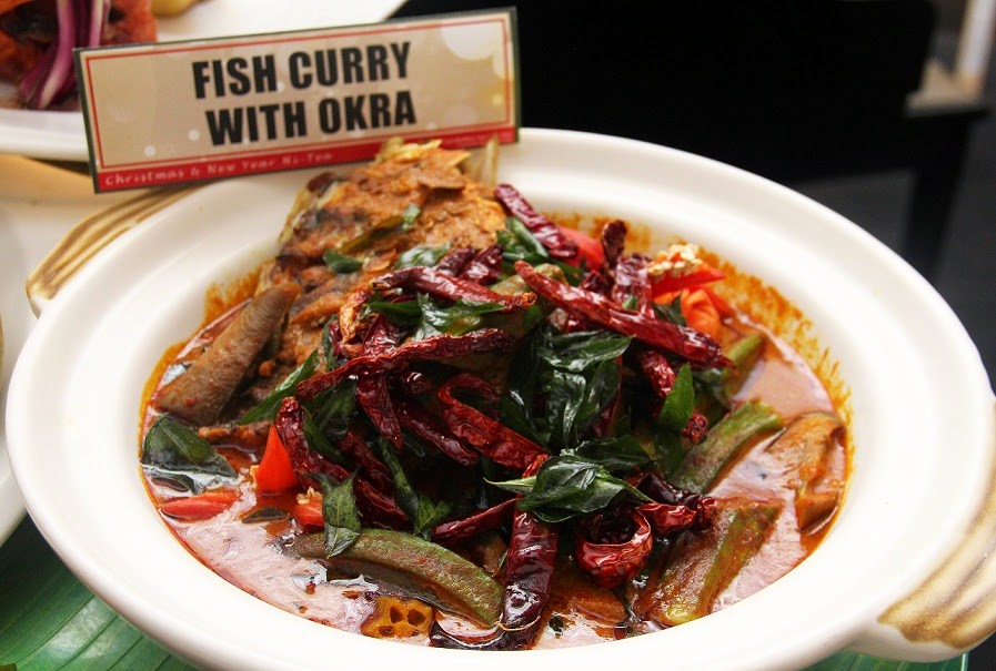 Fish Curry with Okra