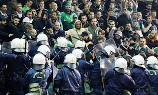 Παναθηναϊκός - Ολυμπιακός: Βίντεο από τα επεισόδια στη Λεωφόρο