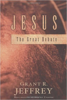 http://www.amazon.com/Jesus-Debate-Grant-R-Jeffrey/dp/0921714564