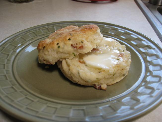 Lazy J Bar C: Buttermilk Biscuits with Goat Cheese, Bacon ...