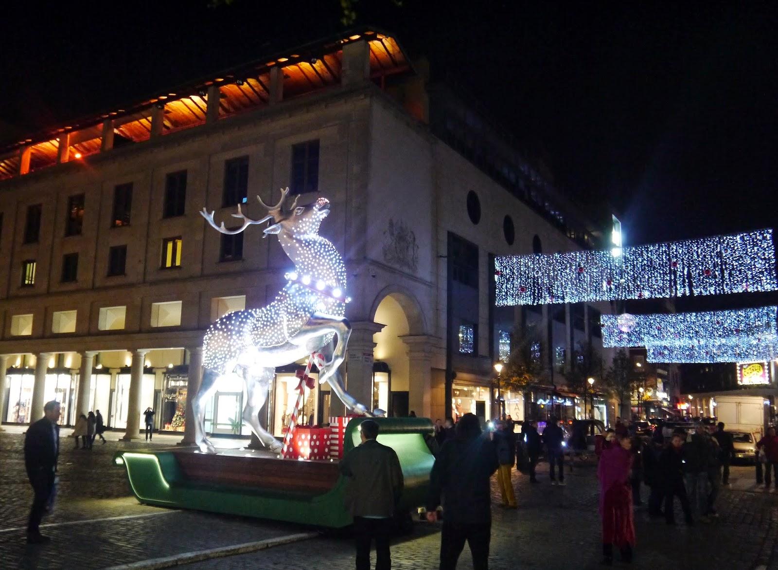 Covent Garden Market reindeer
