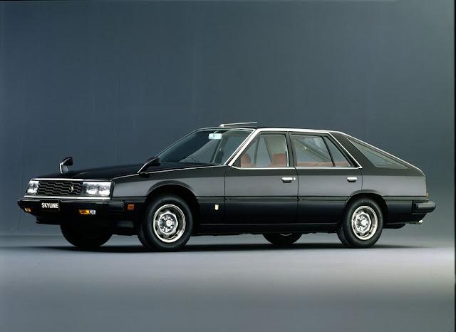 Nissan Skyline, R30, lata 80, RWD, hatchback