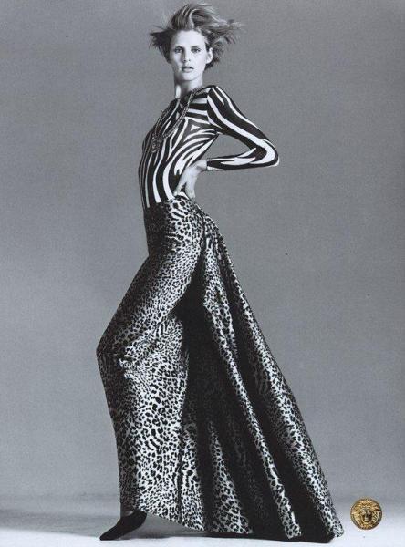 Gianni Versace Designs Christopher Uvenio Col...