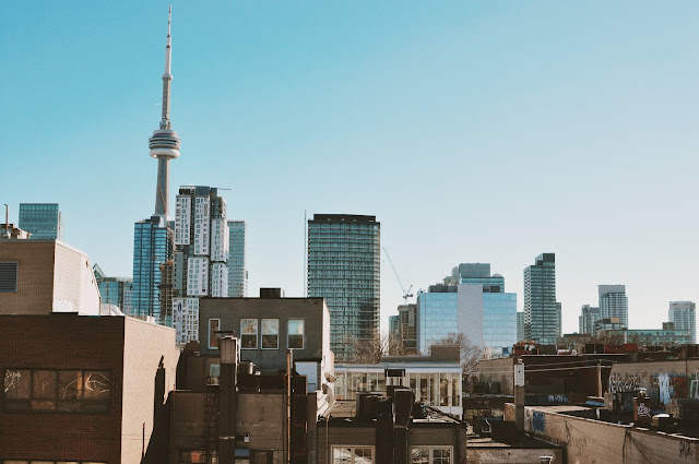 CN Tower from D'Arcy Street