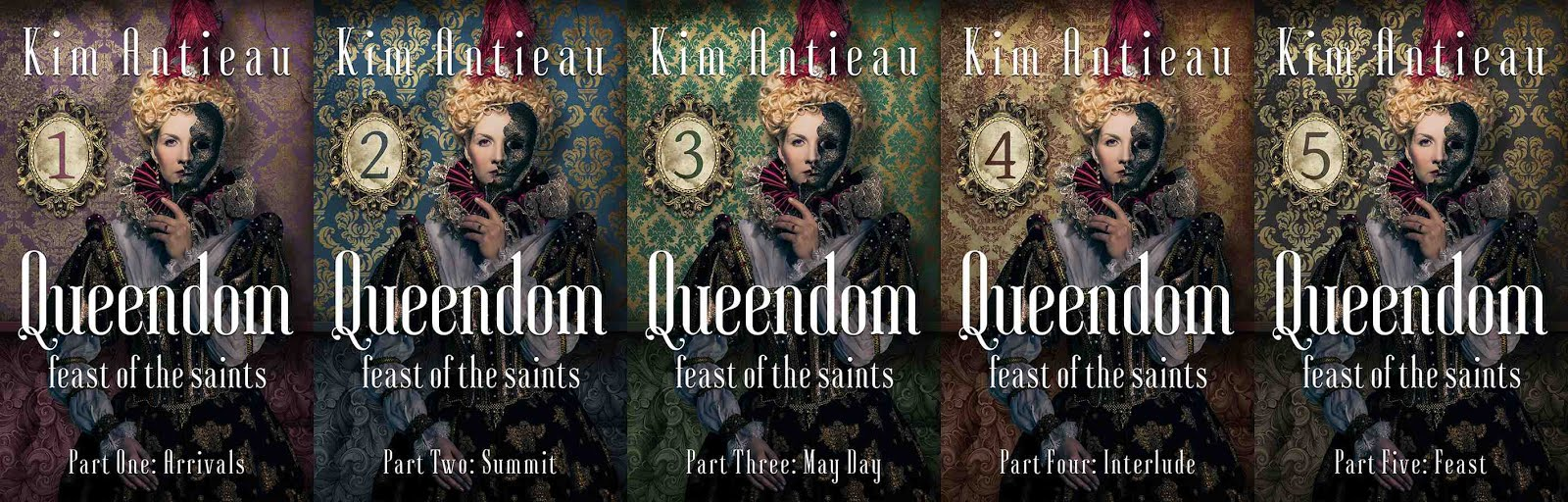 Queendom: Feast of the Saints, Special 5-part e-book series