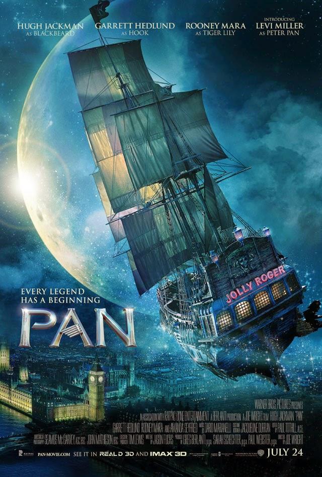 映画「PAN ~ネバーランド、夢のはじまり~」ポスター