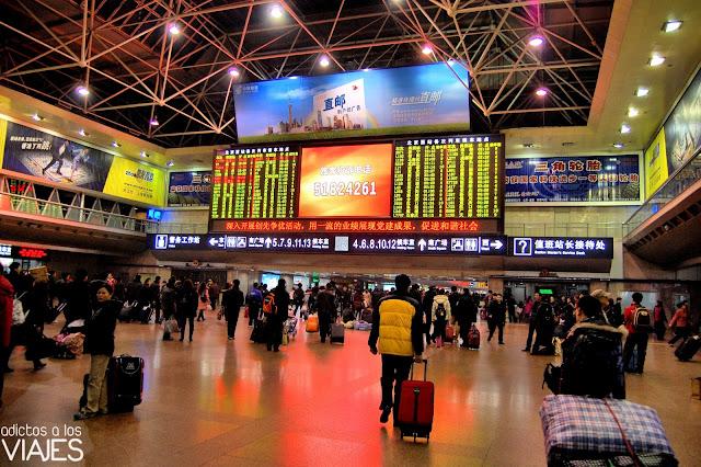 estacion de tren de pekin oeste