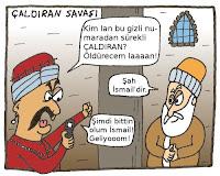çaldıran meydan muharebesi, savaş, II selim, Şahkulu Sultan han, Kanuni sultan süleyman