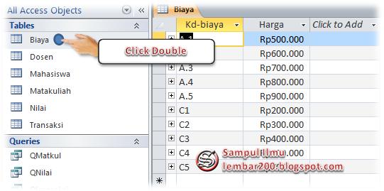 Cara Mudah Print Tabel Di Ms Access