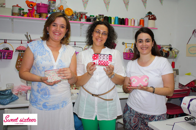 Taller Costura para Principiantes Sweet sixteen, craft store.Madrid.