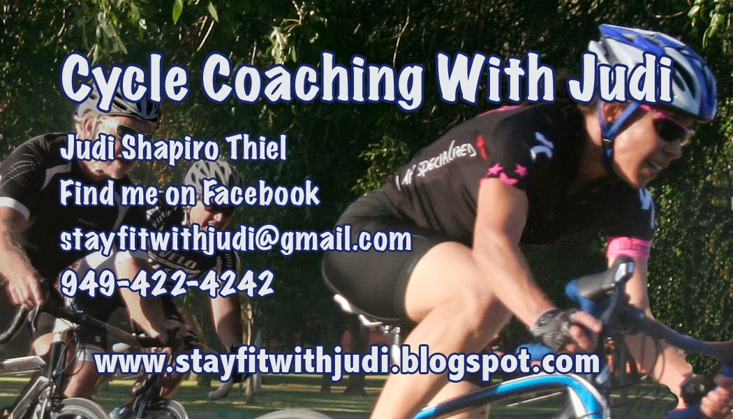 I Offer Cycle Coaching (click on picture for info)