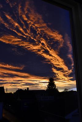 norweski zachód słońca