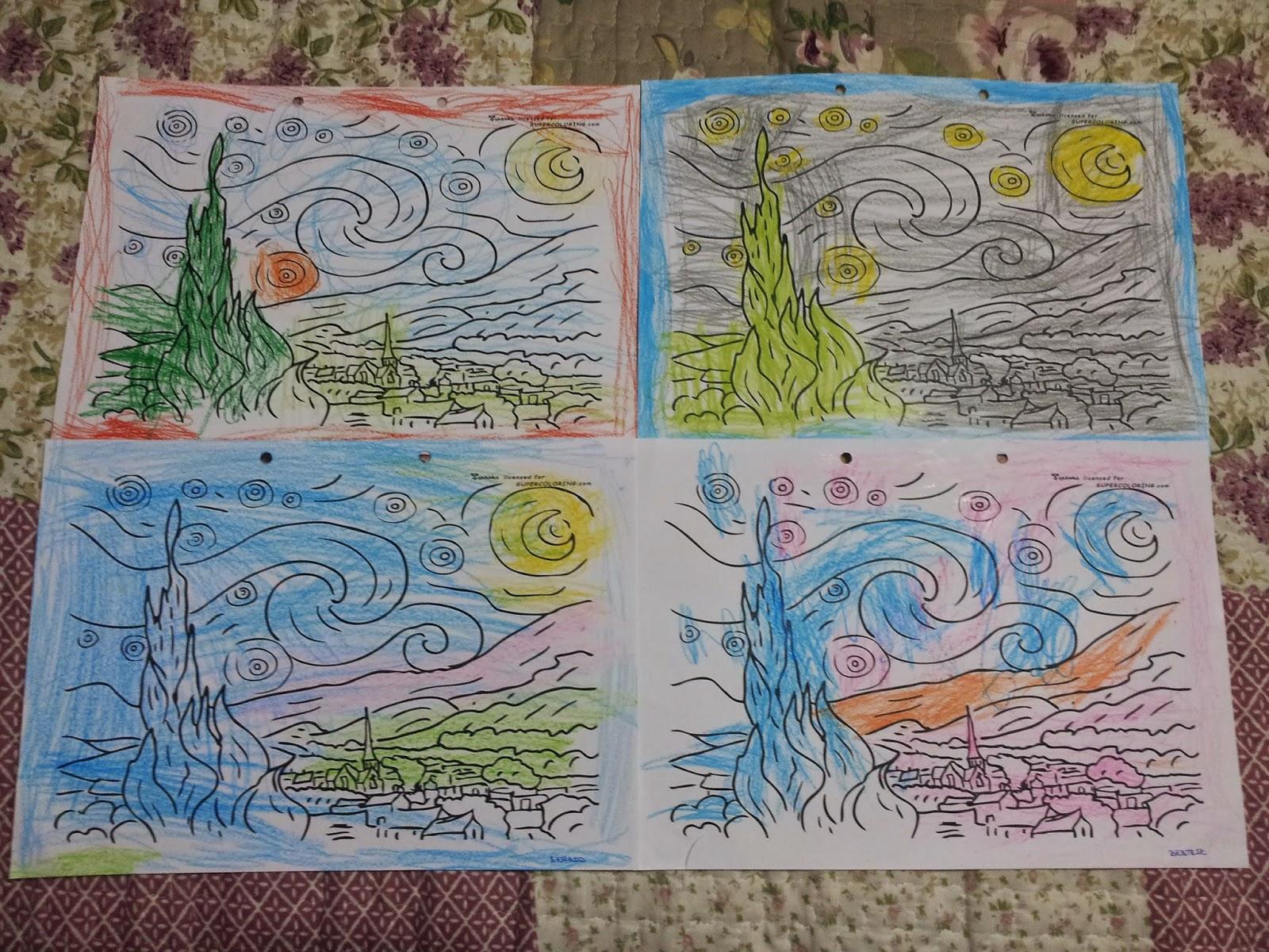 Trabajando en Educación Infantil: Van Gogh 12: Los girasoles, La ...