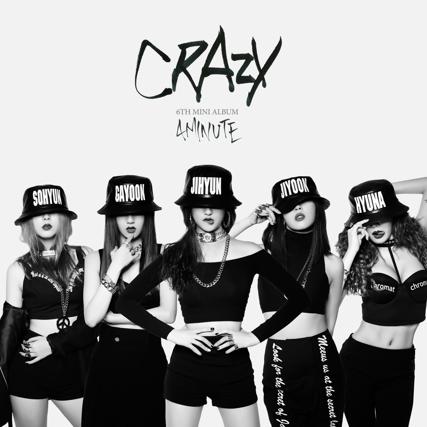 [EP] Crazy (Mini Album Vol. 6) - 4Minute(포미닛)